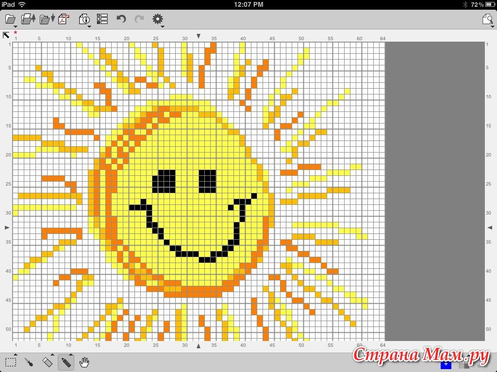 Программы для вышивки крестом на планшет