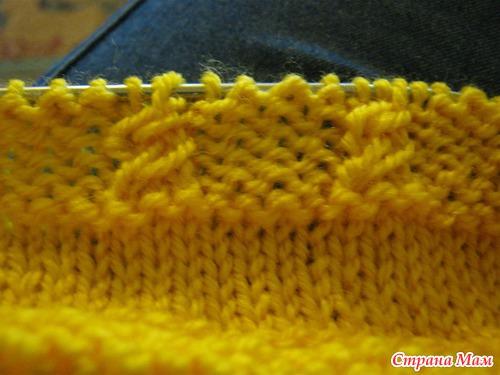 МК по желтой юбочке