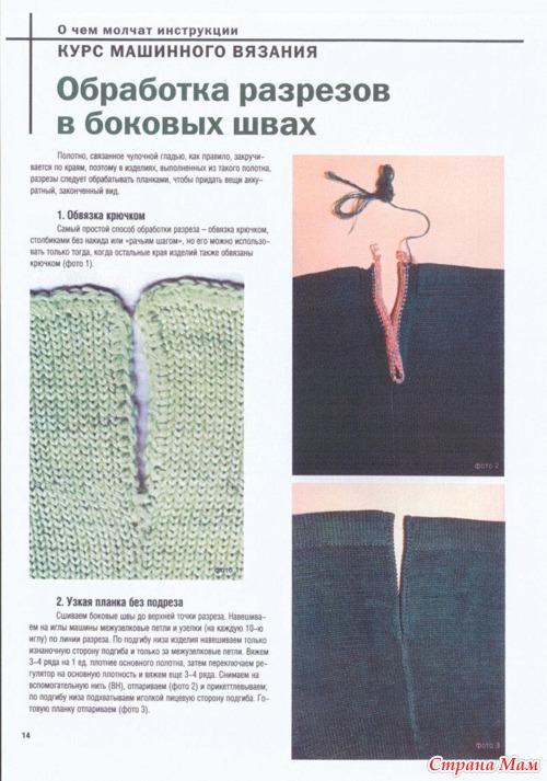 Курс машинного вязания.