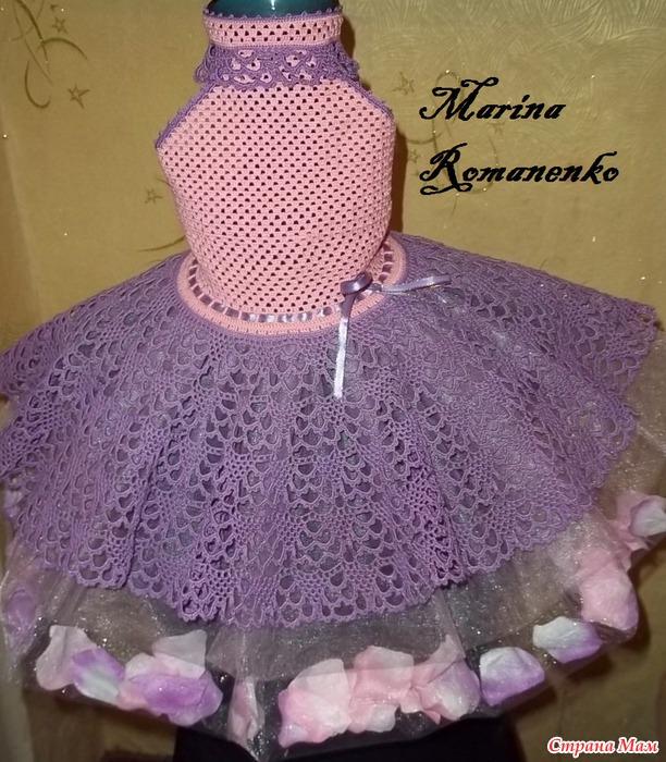 """Нарядное платье """"цветочная"""