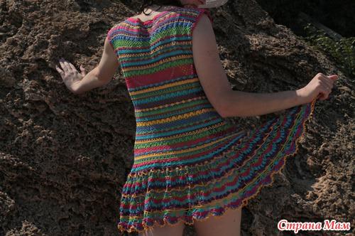 Пляжное платье. Дубль 2. Фотосессия.