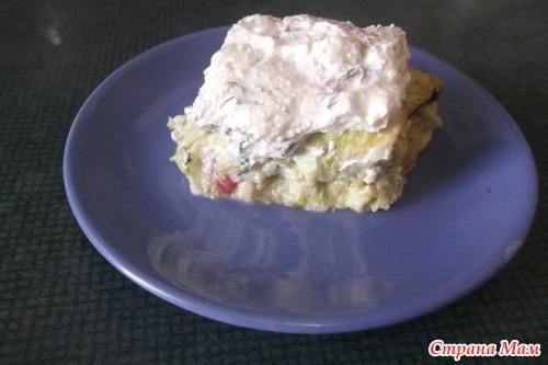 Кабачковые пирожные