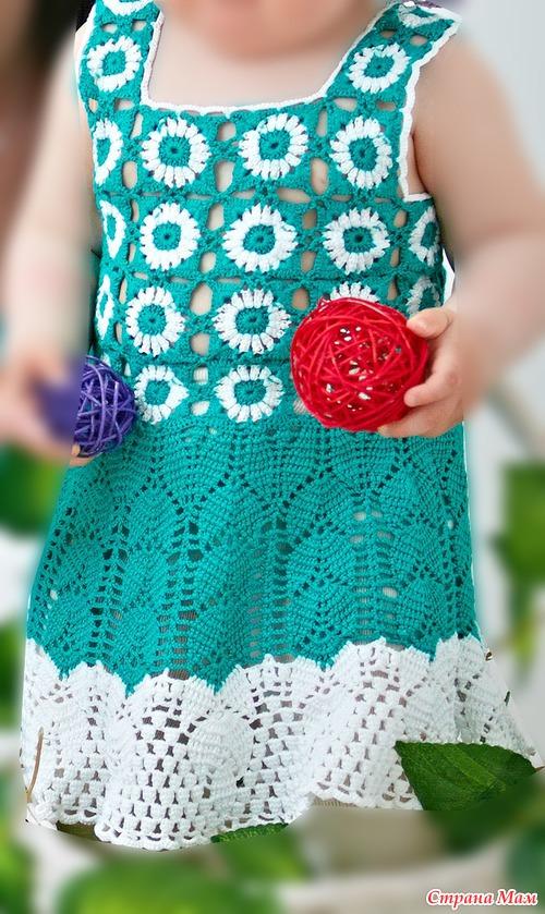 Нежное платье для доченьки