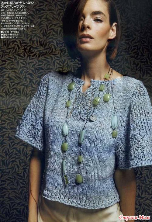 Блог по вязанию спицами