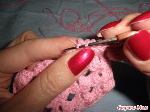 Мастер-класс вязания крючком с использованием бисера