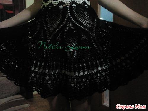 """Платье """"Домино"""" -подарок дочери к 8 Марта. Добавила схемы"""