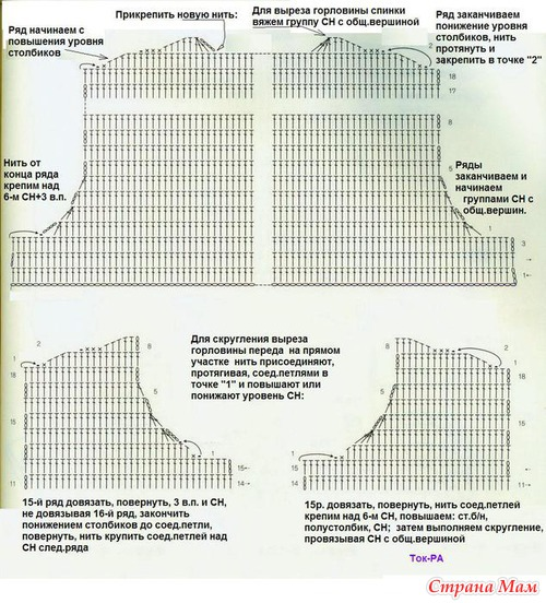 Схемки, которые помогут при вязании
