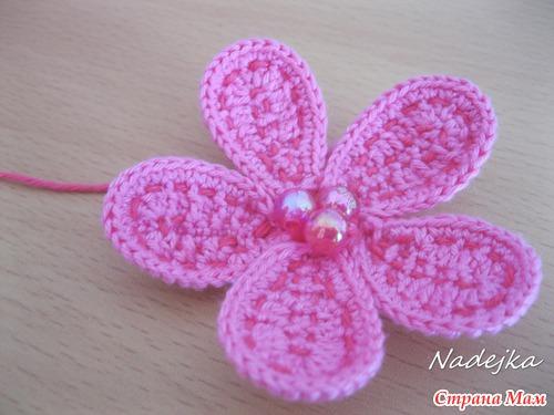 МК красивого цветочка