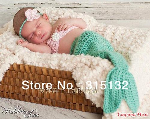 Костюм «Мышка Мини» крючком для фото сессии новорожденных. Мастер - класс 60