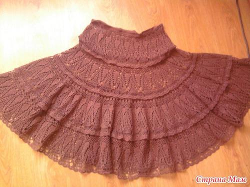 Мое воплощение юбки каскад