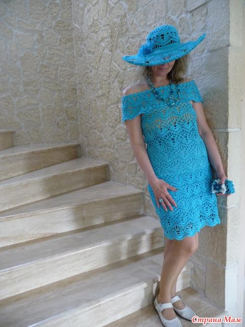 Шляпа к топику, превратившемуся в платье