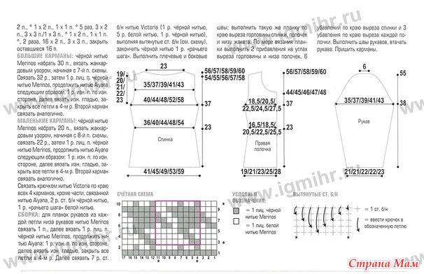 Вяжем шанель схема 183