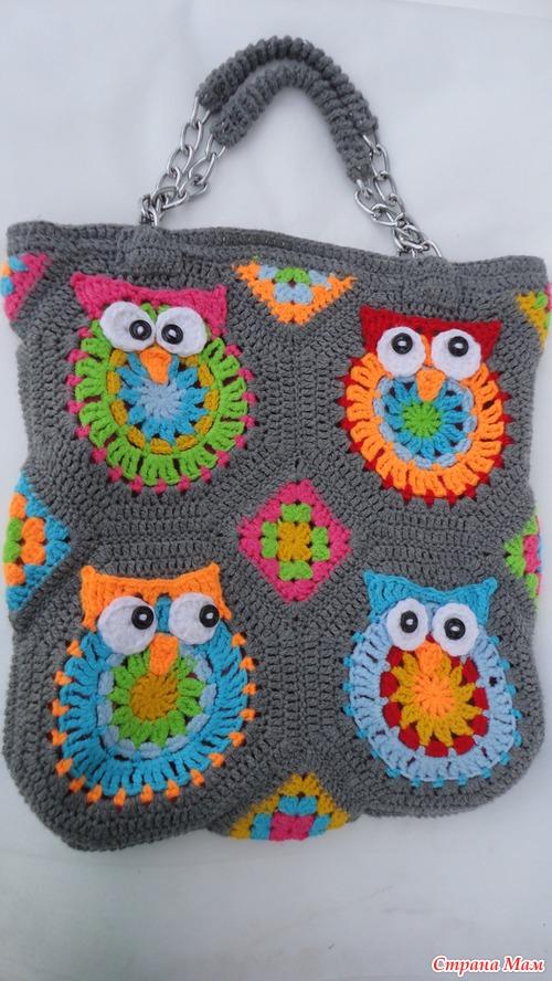 Модное направление - сумка с совами