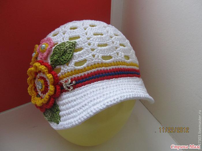爱尔兰钩花帽(37) - 柳芯飘雪 - 柳芯飘雪的博客