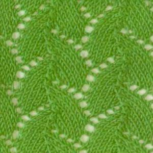 вязание легких узоров ажурных