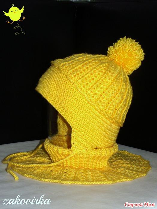 """钩针:"""" 帽子和脖套 """" - maomao - 我随心动"""