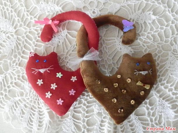 Подарки своими руками ко дню святого валентина руками