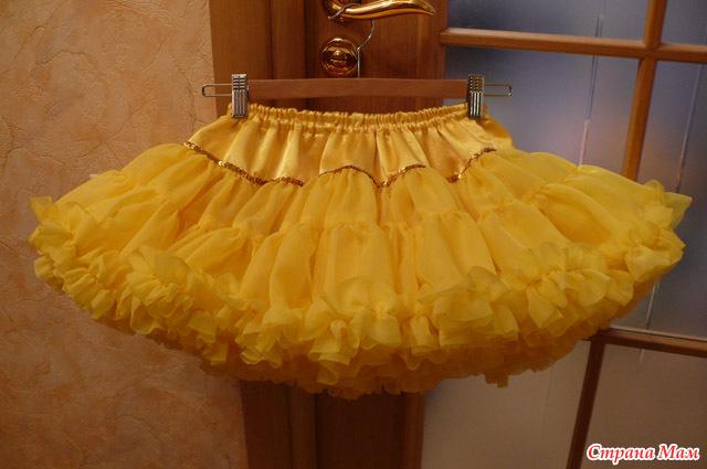 Из чего шьются юбки-американки