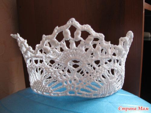 корона для дочи вязание для детей страна мам