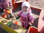 Встречаем весну в песочнице:)