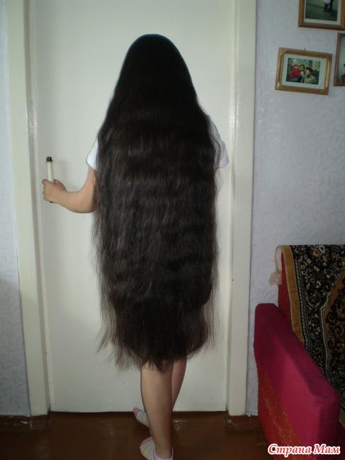 Волосы до колен фото