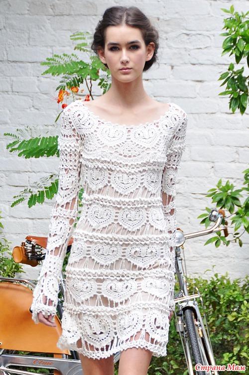 Платье сердечное от ванессы монторо и схемы