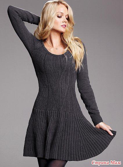 a3d49f27912 Платье Victoria s Secret - Вяжем вместе он-лайн - Страна Мам
