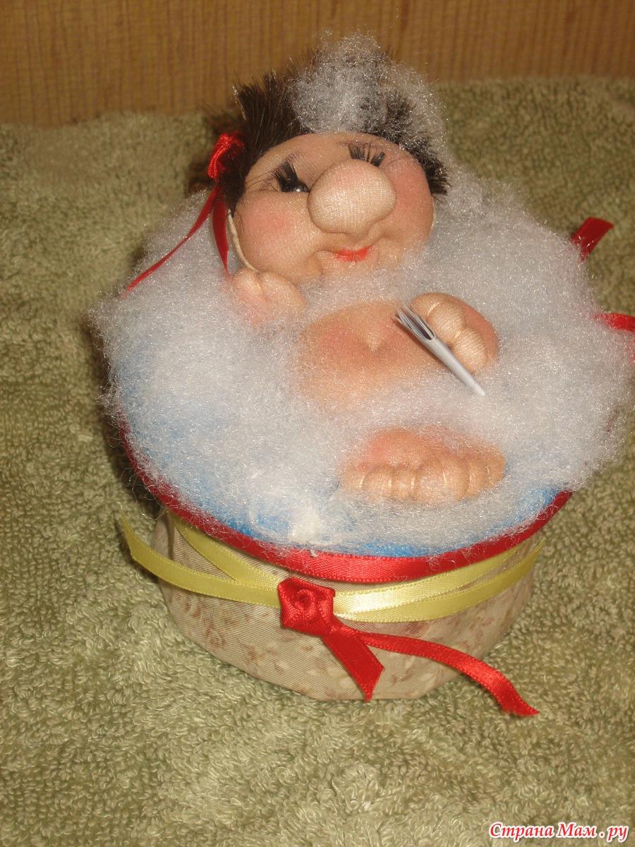 Тетушка в ванной