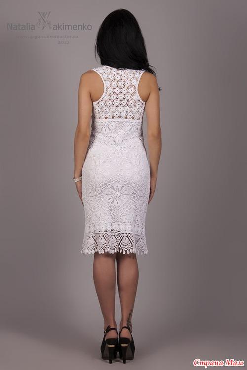 8b6d90893dc Вяжем платье от Натальи Якименко. В интернете на Ярмарке мастеров я увидела  ...
