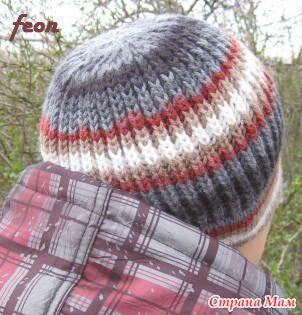 шапочка английской резинкой вгу вязаные головные уборы