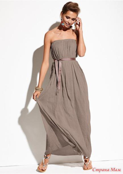 Легкое платье своими руками
