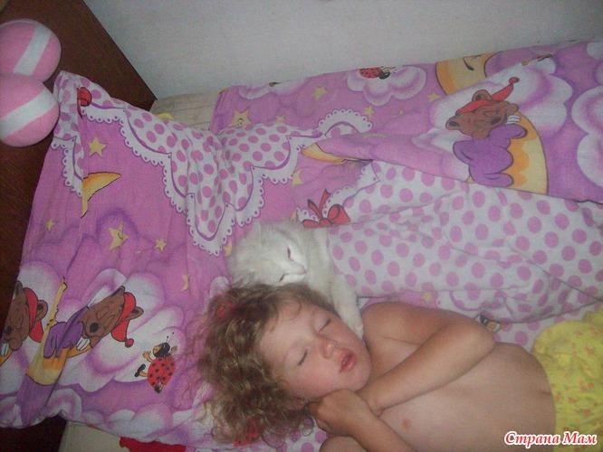 Одеялом у мам под