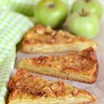 Нежный яблочный пирог с хрустящей ...